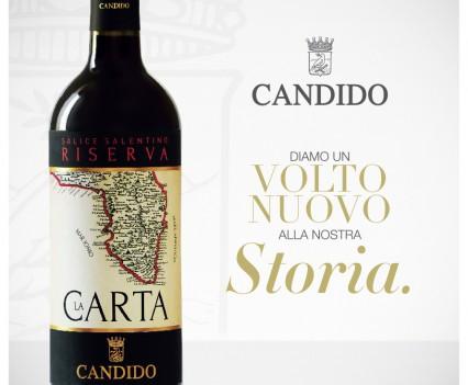 Visual campaign vino