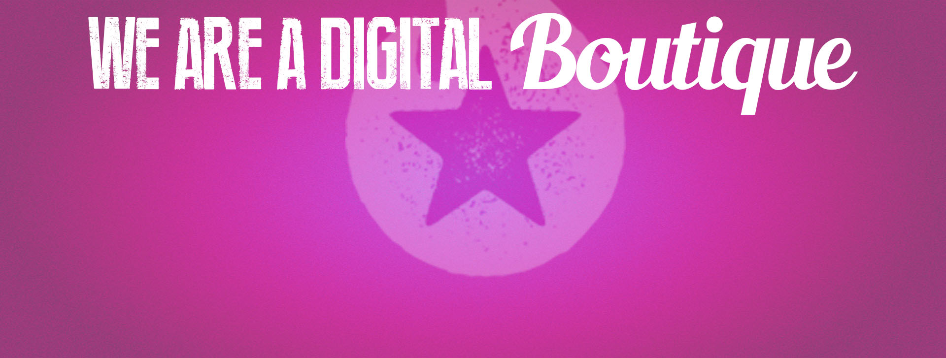 we are digital boutique rosa