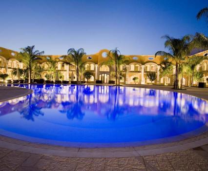 Panoramica albergo