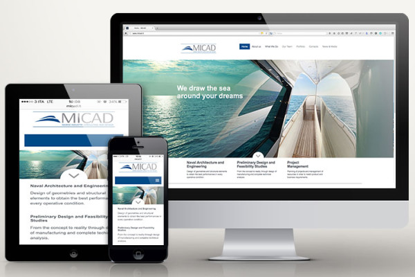 MICAD web marketing